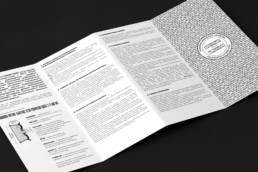 разворот паспорта с гарантийным талоном продукции khomen wheels