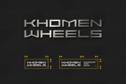логотип khomen wheels