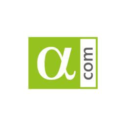 логотип альфаком