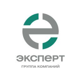 логотип строительной компании эксперт