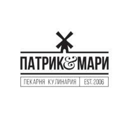 логотип пекарни патрик и мари