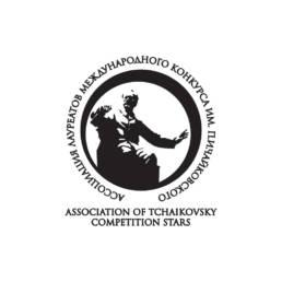 симметричное решение логотипа ассоциации лауреатов международного конкурса им. п.и.чайковского
