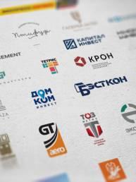 дизайн логотипов, разработанных в аргентум дизайн