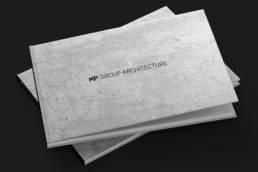 презентация архитектурной компании в твёрдом переплёте