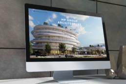 главная страница сайта архитектурной компании
