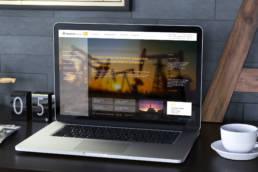 дизайн главной страницы сайта ньютек сервисез