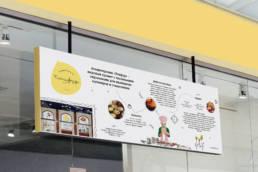 постер настенный детского кафе птифур