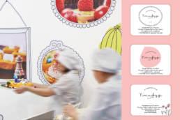 оформление стен детского кафе птифур