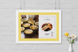 настенный плакат детского кафе птифур