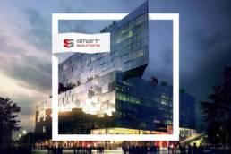обложка презентации строительной компании смарт солюшнс