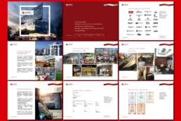 дизайн страниц презентации строительной компании смарт солюшнс