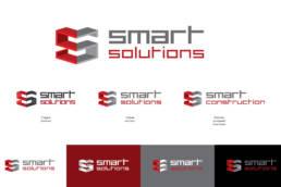 логотип строительной компании смарт солюшнс