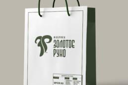фирменный пакет фабрики золотое руно