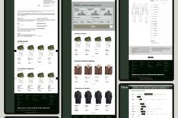 дизайн интернет-магазина фабрики золотое руно