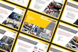 Страницы презентации сети автотехцентров Quick Made