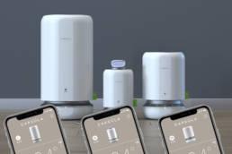 Дизайн приложений для серии приборов очистки воздуха Capsula