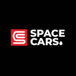 Логотип компании Спейс Карс (Space Cars). Разработан в агентстве Аргентум Дизайн.