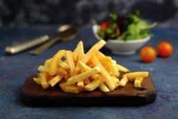 Фотосессия для ресторана Zotto (Зотто). Аппетитная съёмка картошки фри.